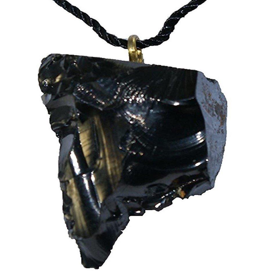 Karelian Heritage Elite Shungite Crystal Pendant