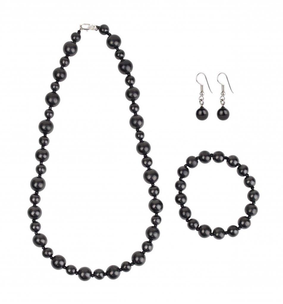 Heka Naturals Shungite Jewelry Set