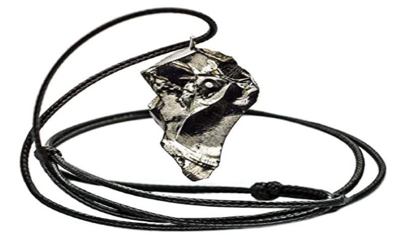 Wallystone Gems Shungite Pendant Necklace