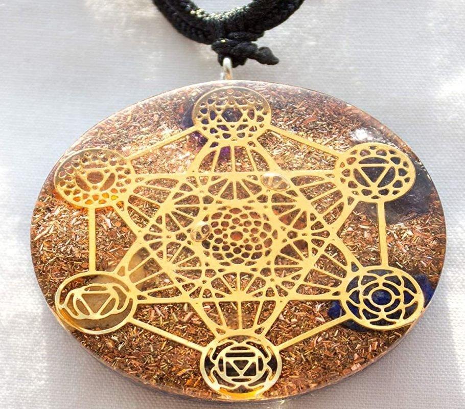 Ezina Designs Metatron Cube Necklace
