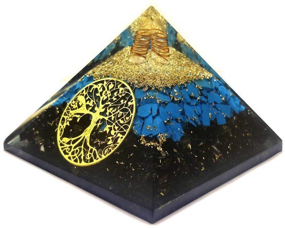 Orgonite Crystal Orgone Pyramid
