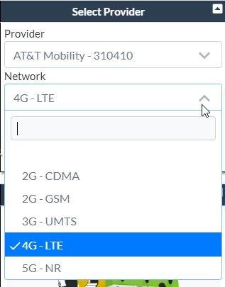 4G Selection
