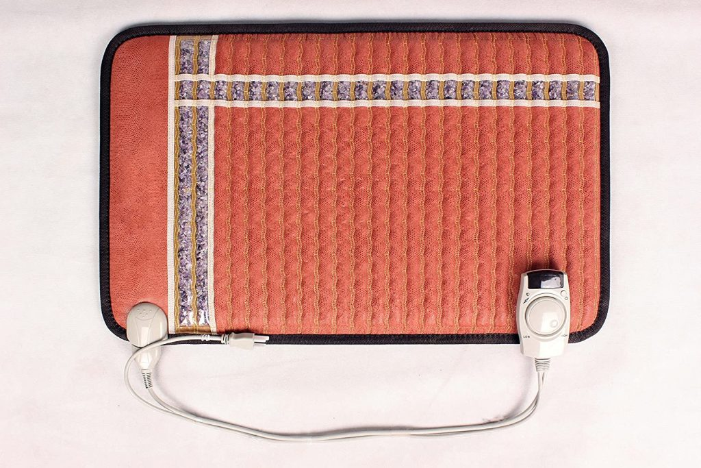 Back Rescue Infrared Heating Pad with Amethyst