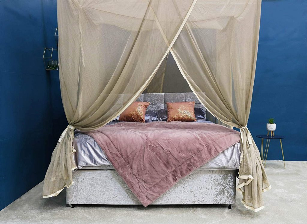 BlocSilver EMF Shielding Bed Canopy