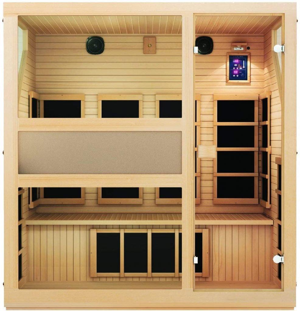 Ensi Four-Person Ultra-Low EMF Far Infrared Sauna