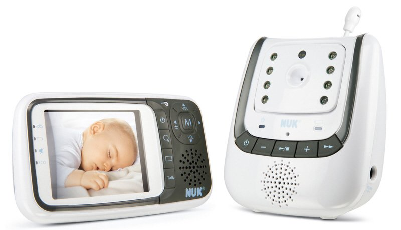 Nuk Baby Monitor with Eco Control Video