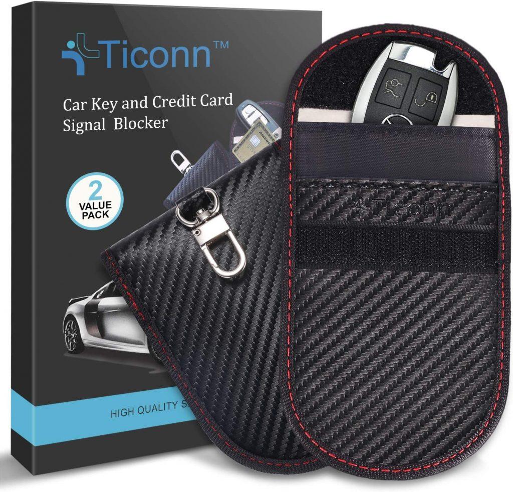 Ticonn Faraday Bag for Key Fobs
