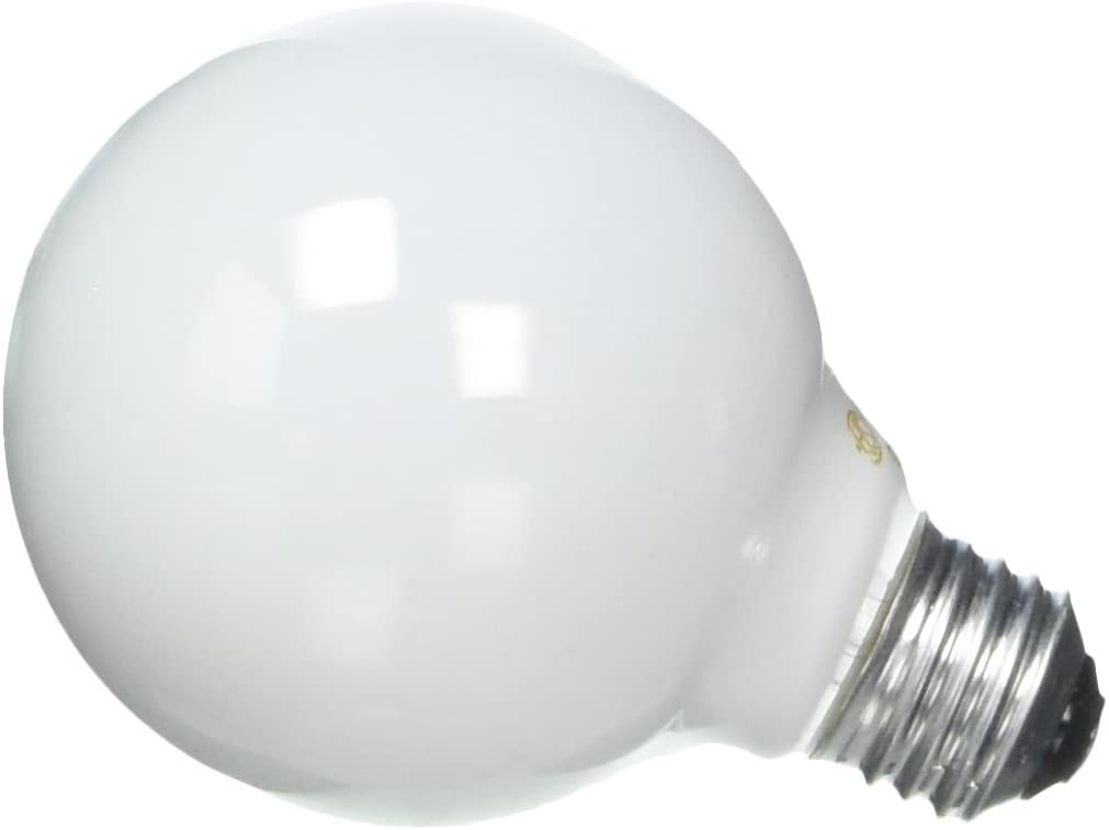 GE Incandescent Globe Soft White Bulbs