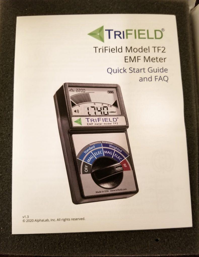TriField quick start guide