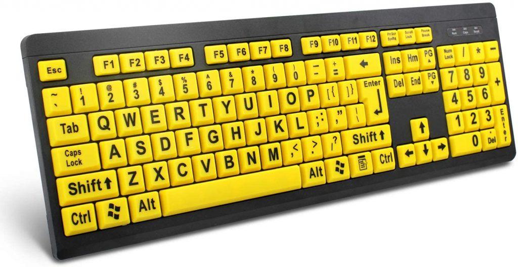 BOOGIIO Large Print Keyboard