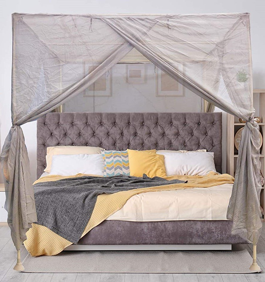 Blocsilver Four Poster EMF Protection Canopy