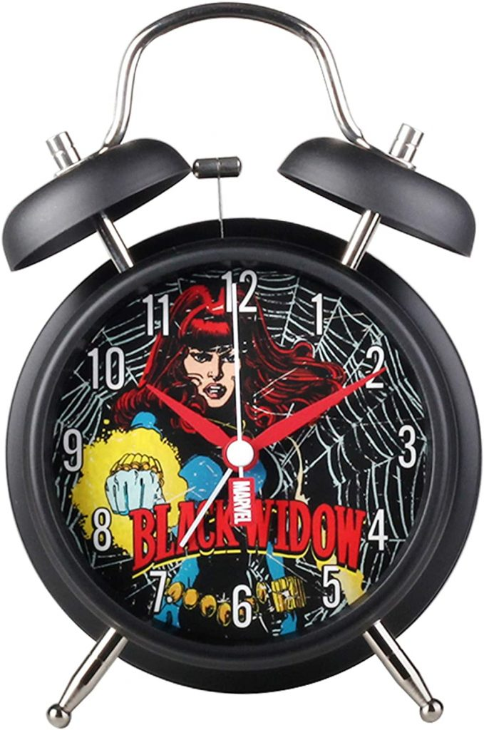 Disney Black Widow Marvel Metal Twin Bell