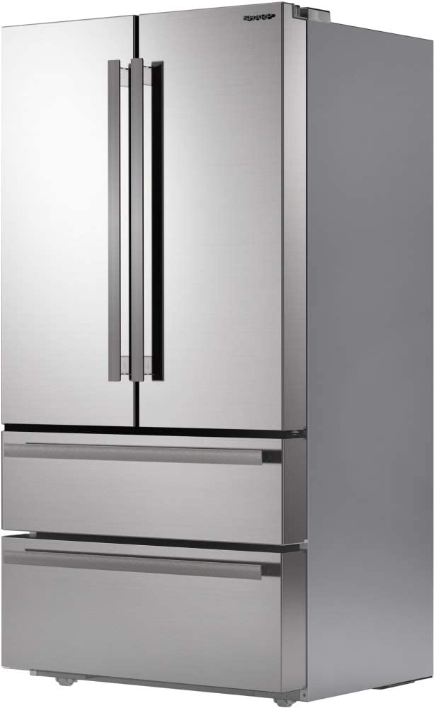 Sharp SJG2351FS French 4-Door Refrigerator