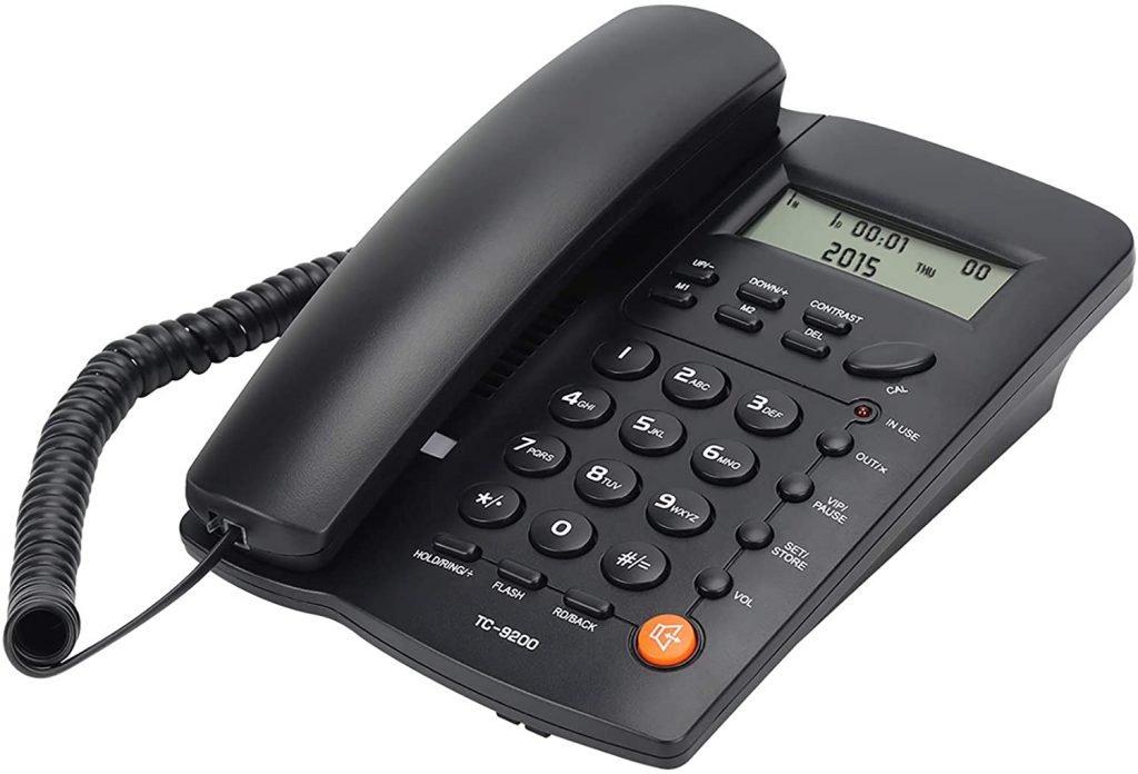 Uvital Desktop Corded Telephone